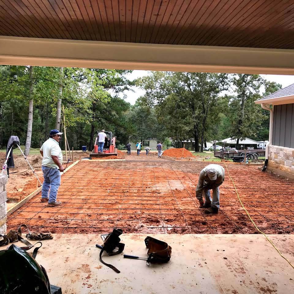 Concrete Driveway Installation in Livingston , TX